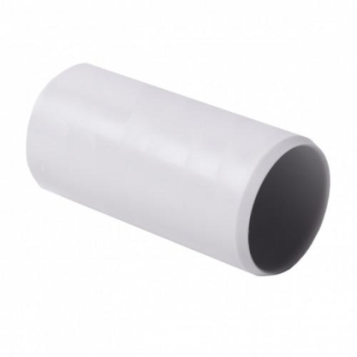 Соединитель для EN труб, d32мм, PVC, светло-серый