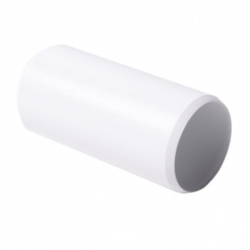 Соединитель для EN труб, d25мм, PVC, белый