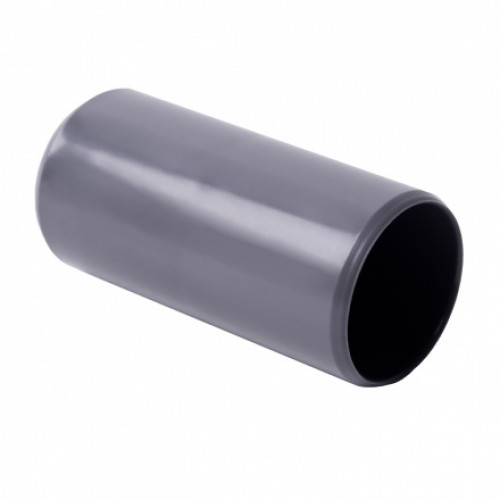Соединитель для EN труб, d40мм, PVC, темно-серый