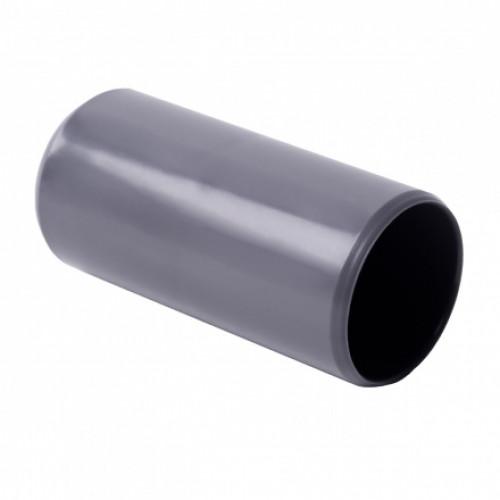 Соединитель для EN труб, d50мм, PVC, светло-серый