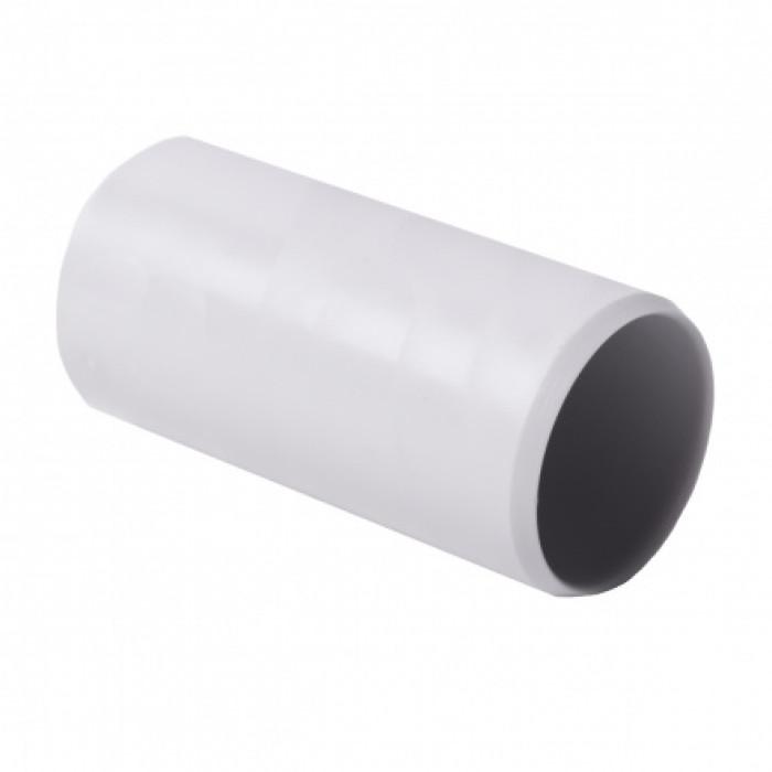 Соединитель для EN труб, d16мм, PVC, светло-серый