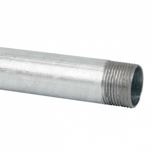 Стальная резьбовая труба, горячее оцинкование d28.3x1.3мм KOPOS