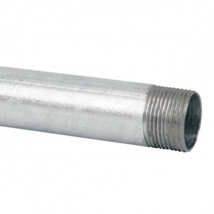 Стальная резьбовая труба, горячее оцинкование d47x1.5мм