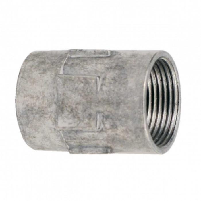 Соединитель для стальных труб с резьбой P13.5мм