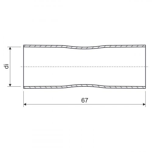 Муфты для стальных труб d16мм KOPOS