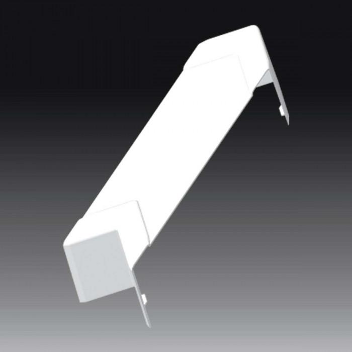 Плоский угол к кабель-каналу 140х70, цвет белый