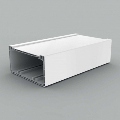 Кабель-канал парапетного типа, размер 140X70, цвет белый