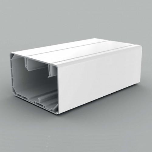 Кабель-канал парапетного типа, размер 90X55, цвет белый