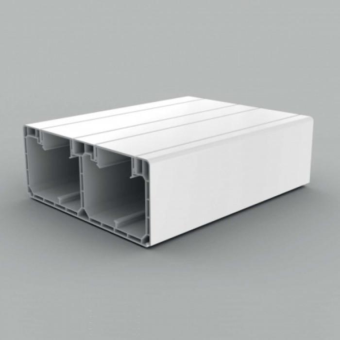 Кабель-канал парапетного типа, размер 160X65, цвет белый