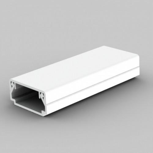 Безгалогенный кабельный канал, размер 20X10, цвет белый