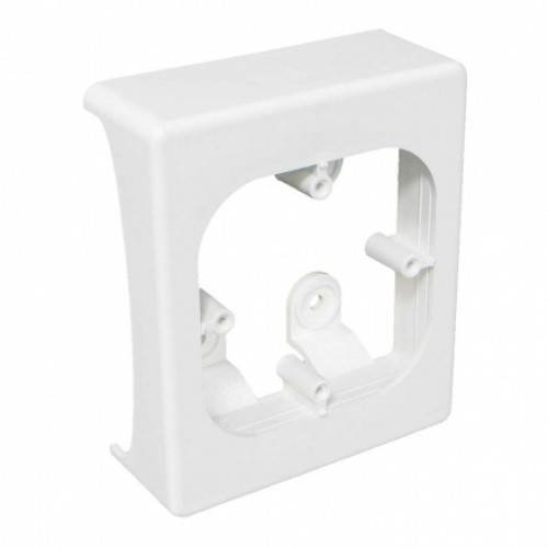 Коробка для кабельных каналов pne 80x20 (hb), цвет белый