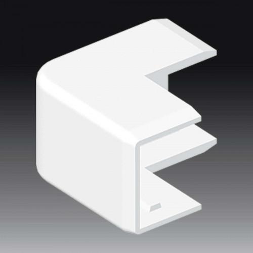 Внешний угол к кабель-каналу 25х20, цвет белый