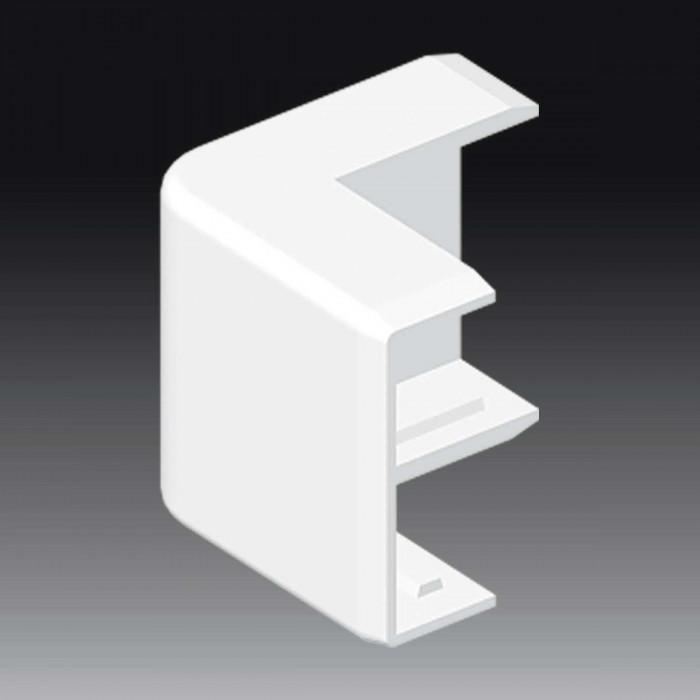 Внешний угол к кабель-каналу 40х15, цвет белый