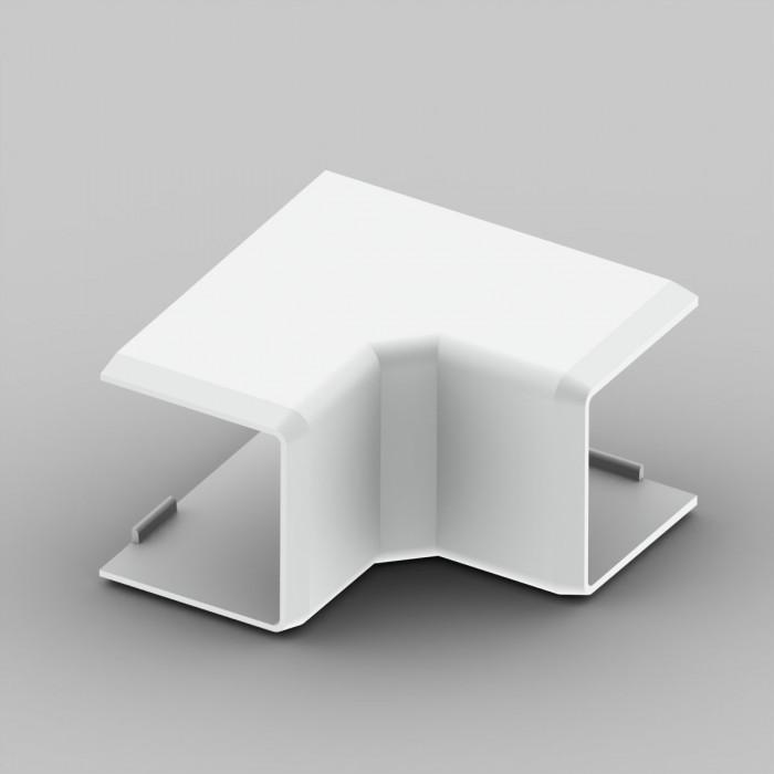 Внутренний угол к кабель-каналу 20х20, цвет белый