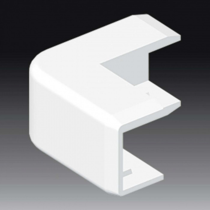 Внешний угол к кабель-каналу 18х13, цвет белый