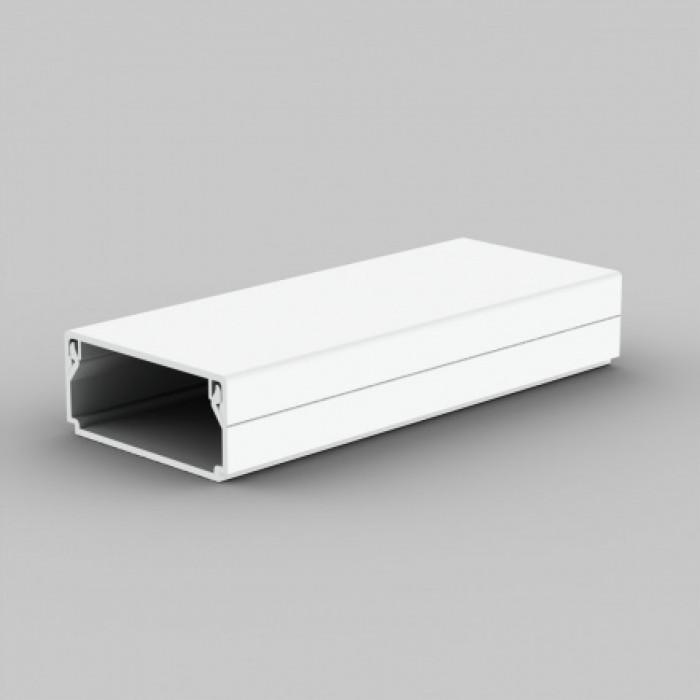Безгалогенный кабельный канал, размер 40X20, цвет белый
