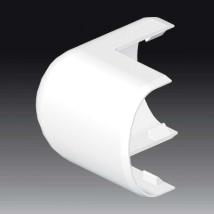 Внешний угол к кабель-каналу 40, цвет белый