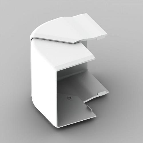 Внешний угол к кабель-каналу 60х40, цвет белый