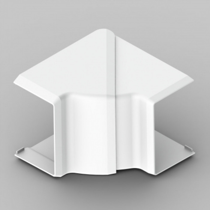 Внутренний угол к кабель-каналу 60х40, цвет белый