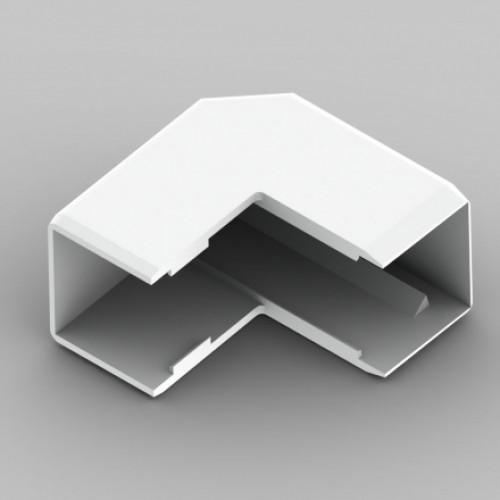 Внешний угол к кабель-каналу 20х20, цвет белый