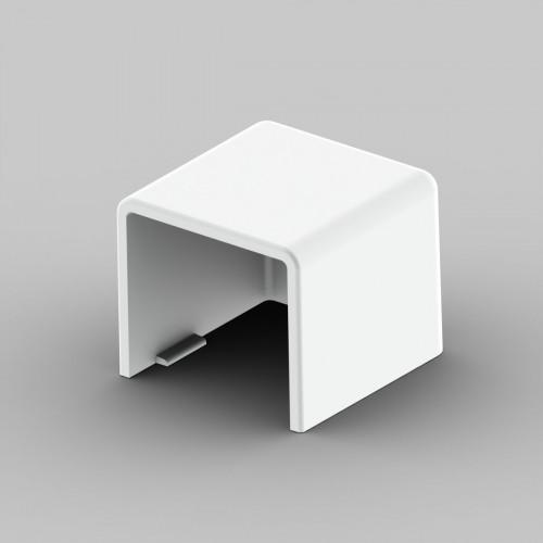 Заглушка к кабель-каналу 20х20, цвет белый