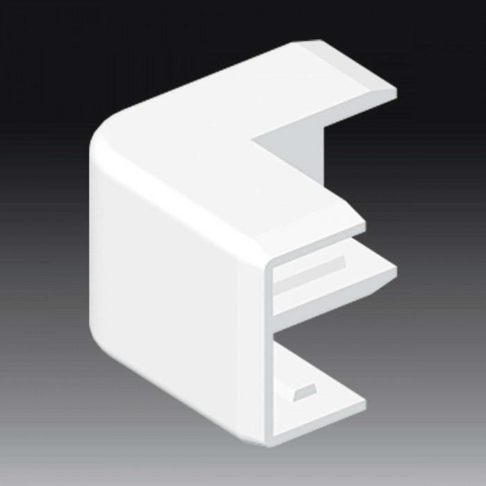 Внешний угол к кабель-каналу 25х15, цвет белый