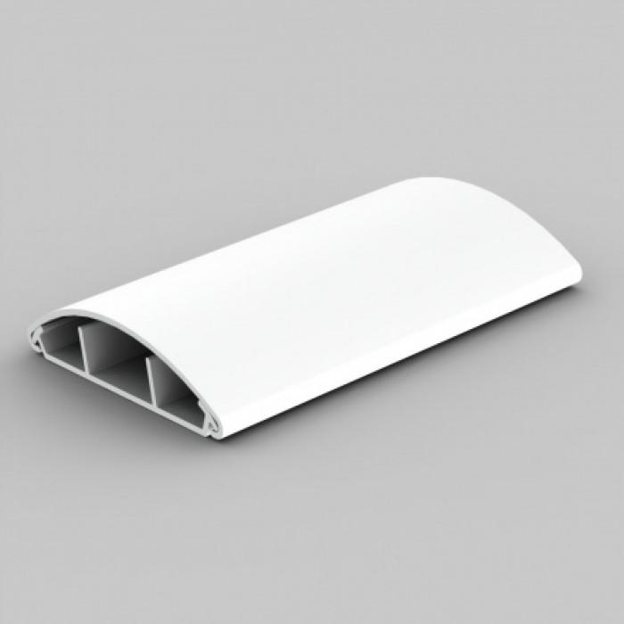 Напольный канал, размер 75, цвет белый