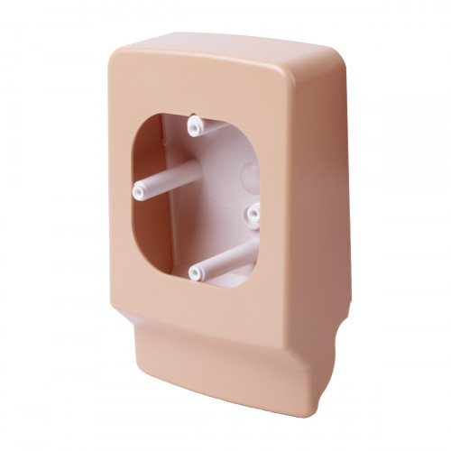 Распределительная коробка для lp 35 (имитация текстуры дерева), цвет светлая береза