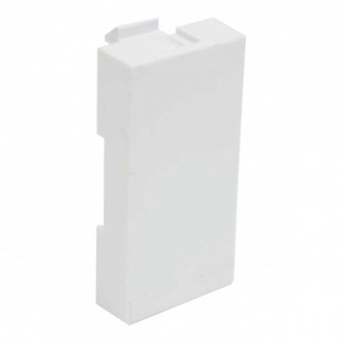 Модульная заглушка qd 45x22.5 quadro (hb) белая