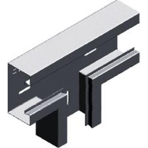 Тройник настенного канала (лакированный) TSKS 170x68x1.0мм