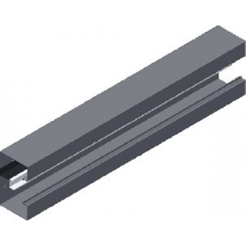 Настенный канал (лакированный) KS 115x100x1.0мм, длина 2м