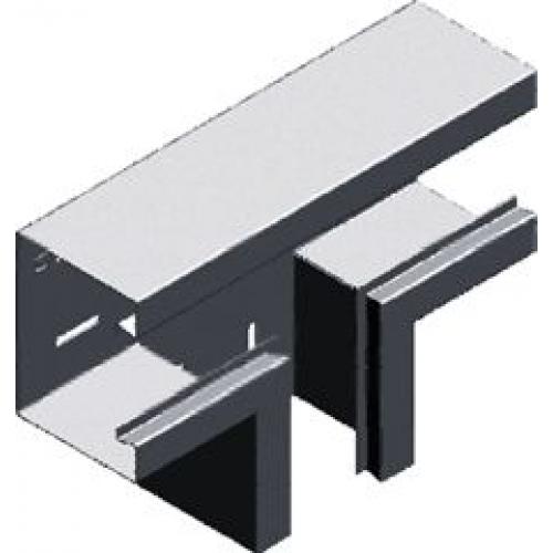 Тройник настенного канала (лакированный) TSKS 170x100x1.0мм