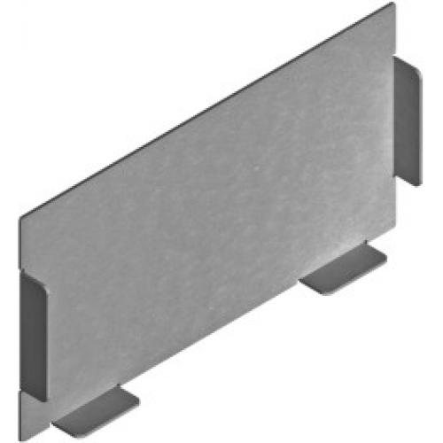 Заглушка канала (лакированная) ZK 115x100x1.0мм