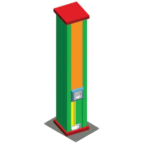 Монтажная колонка SPI 700x1.0мм