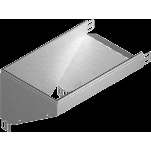 Левый редукционный угол KRLBJ 150x50x1.0мм