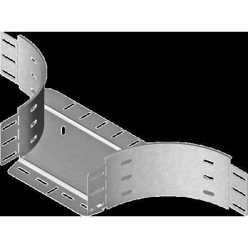 Приставной тройник TKDP 400x100x1.5мм