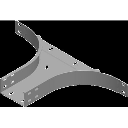 Приставной тройник TKZDP 400x50x1.5мм
