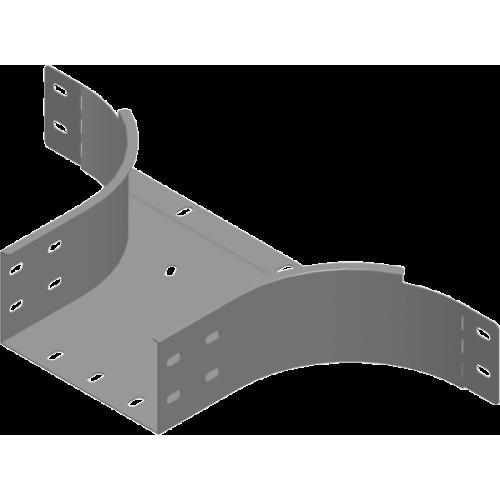 Приставной тройник TKZDC 600x100x2.0мм