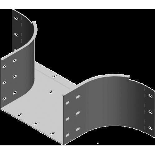 Приставной тройник TKZDP 400x200x1.5мм