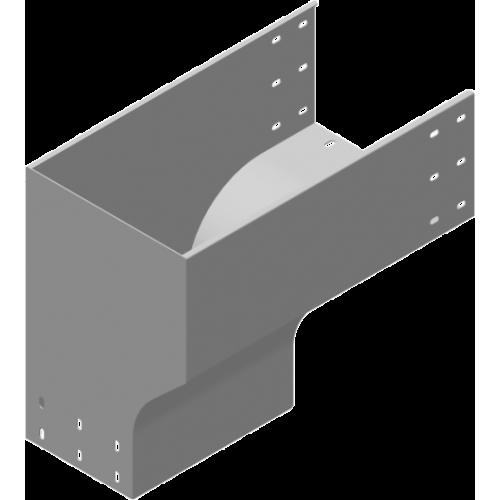 Левый редукционный угол KRLZC 400x200x2.0мм