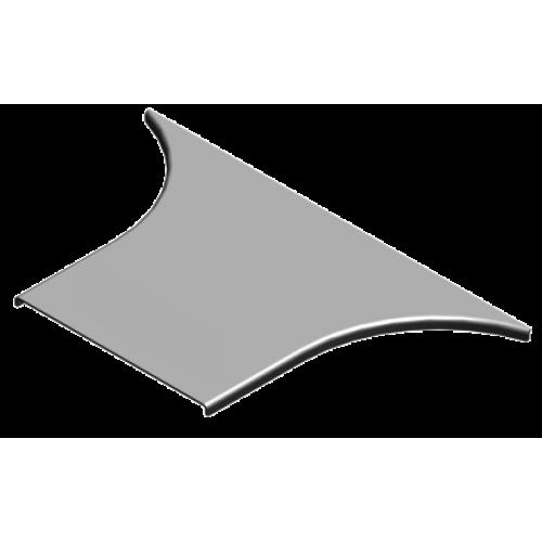 Крышка приставного тройника PTKZDP 300x1.5мм