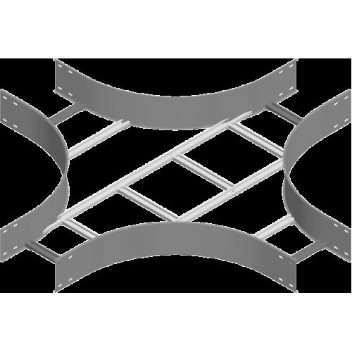 Крестовина CZDST 300x150x3.0мм