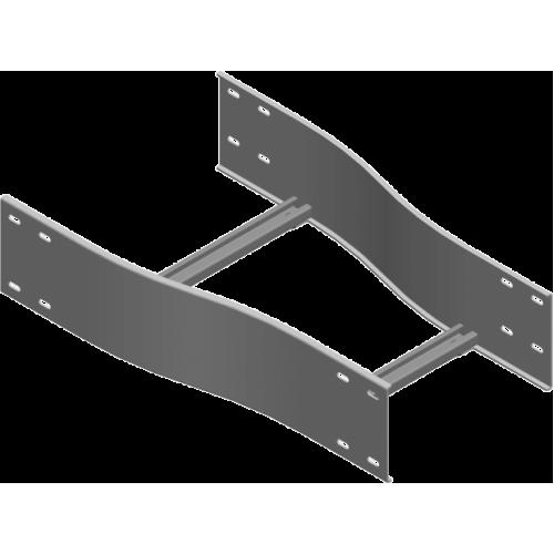 Си етричная редукция RSDSC 600/500x2.0мм