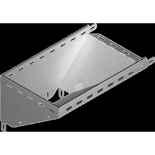 Левый редукционный угол KRLJ 300x30x1.0мм