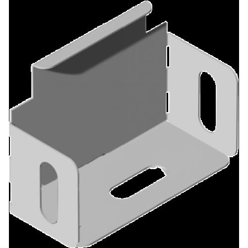 Заглушка лотка покрашенный ZKL 75x60x0.7мм