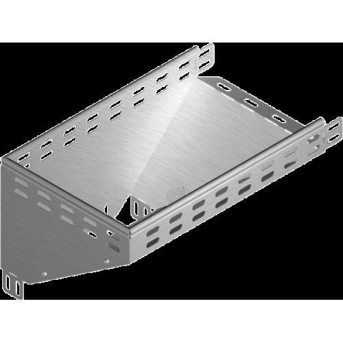 Левый редукционный угол KRLP 100x60x1.5мм
