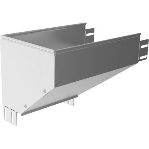 Левый редукционный угол KRLBP 150x80x1.5мм