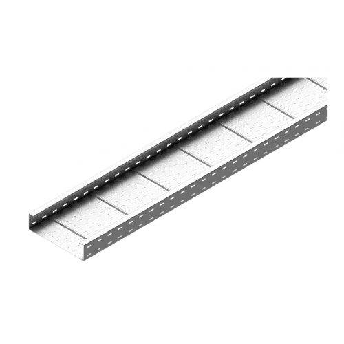 Кабельный лоток KSP 500x100x1.5 мм, длина 3 м