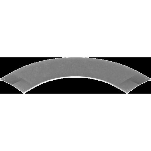 Крышка угла 90° с замком PZKKSC 200x2.0мм