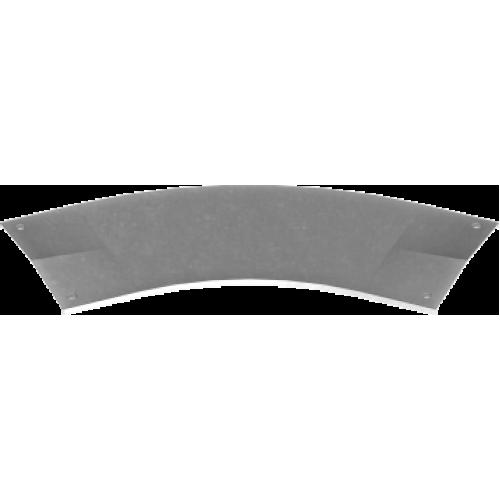 Крышка с замком угольника 45° PZKKSMC 100x2.0мм
